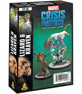 Marvel: Crisis Protocol - Lizard & Kraven