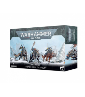 Warhammer 40,000: Space Wolves - Thunderwolf Cavalry