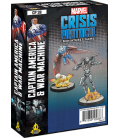 Marvel: Crisis Protocol - Captain America & War Machine