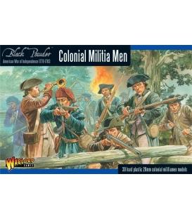 Colonial Militia Men (Plastic Box)