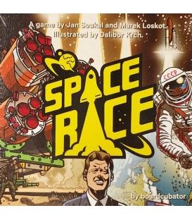 Space Race: The Card Game (wersja KS Deluxe, edycja angielska) + dodatek (Gra używana)