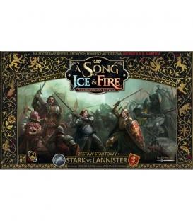 A Song of Ice & Fire - Starter Strak vs Lannister (edycja polska) (Gra uszkodzona)