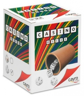 Kości oczkowe - zestaw do gry Casino