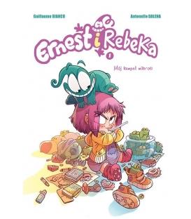 Komiksy są super! Ernest i Rebeka. Mój kumpel mikrob. Tom 1