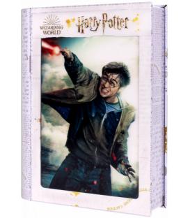 Harry Potter: Magiczne puzzle - Księga - Pojedynek Harry'ego (300 elementów)