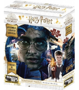 Harry Potter: Magiczne puzzle - Zdrapka - Harry (150 elementów)