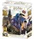 Harry Potter: Magiczne puzzle - Zdrapka - Hogwart za dnia i nocą (500 elementów)
