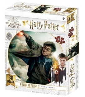 Harry Potter: Magiczne puzzle - Pojedynek Harry'ego (300 elementów)