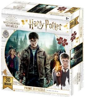 Harry Potter: Magiczne puzzle - Złota Trójka (500 elementów)