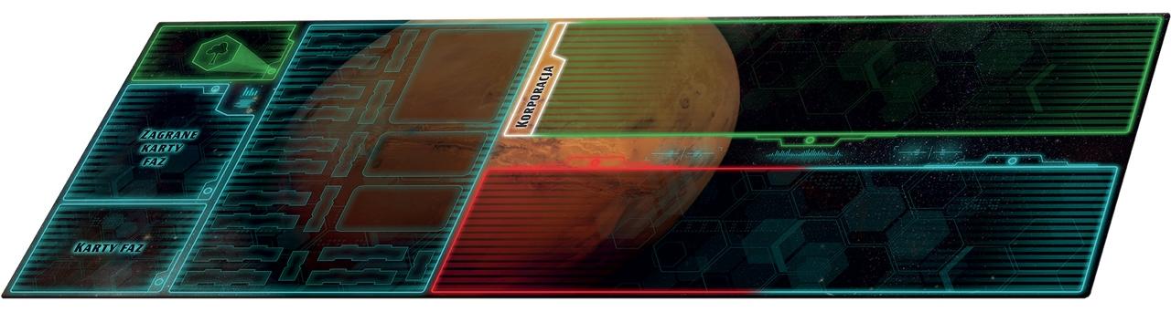 Terraformacja Marsa: Ekspedycja Ares - zestaw dwóch mat do gry (przedsprzedaż)