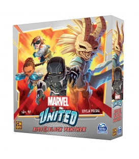 Marvel United: Rise of Black Panther (edycja polska) (przedsprzedaż)