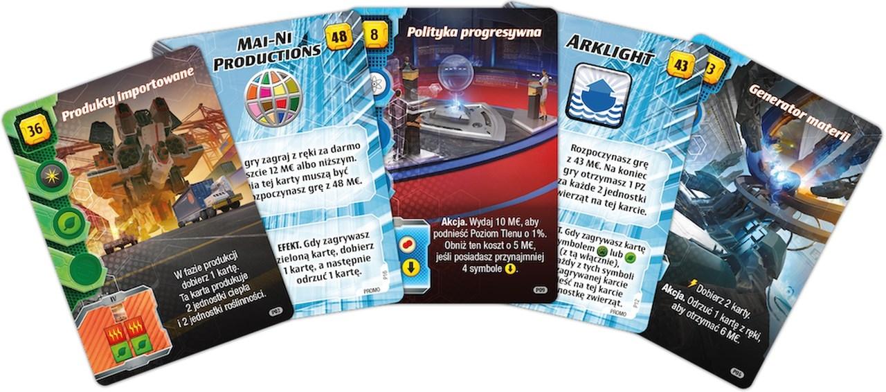 Terraformacja Marsa: Ekspedycja Ares - zestaw dodatkowych kart (przedsprzedaż)