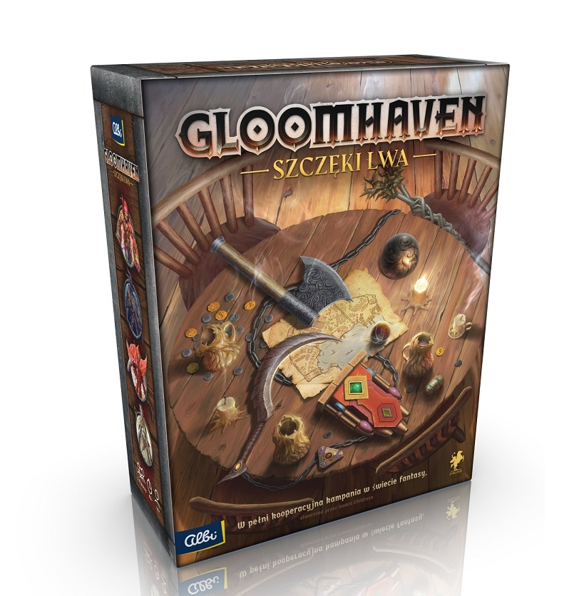 Gloomhaven: Szczęki Lwa (Gra uszkodzona)