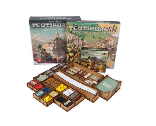 Insert do gry Teotihuacan + dodatki (e-Raptor)
