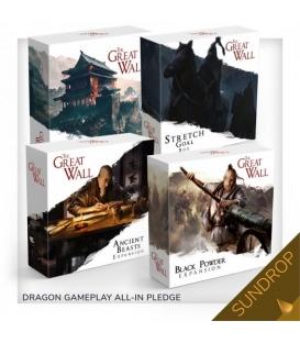 The Great Wall - Dragon Gameplay All-in (polska edycja Kickstarter) (Sundrop) (przedsprzedaż)