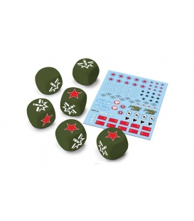 U.S.S.R. Dice and Decals