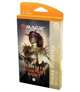 Magic The Gathering: Innistrad: Midnight Hunt - Theme Booster White