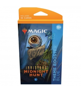 Magic The Gathering: Innistrad: Midnight Hunt - Theme Booster Blue
