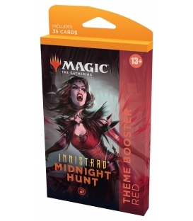 Magic The Gathering: Innistrad: Midnight Hunt - Theme Booster Red