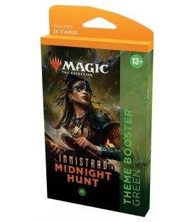 Magic The Gathering: Innistrad: Midnight Hunt - Theme Booster Green