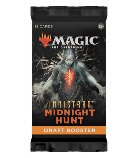 Magic The Gathering: Innistrad: Midnight Hunt - Draft Booster