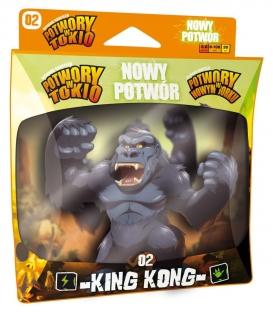 Potwory w Tokio: KING KONG - NOWY POTWÓR (Portal Games) (edycja polska) (przedsprzedaż)