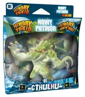 Potwory w Tokio: CTHULHU - NOWY POTWÓR (Portal Games) (edycja polska) (przedsprzedaż)
