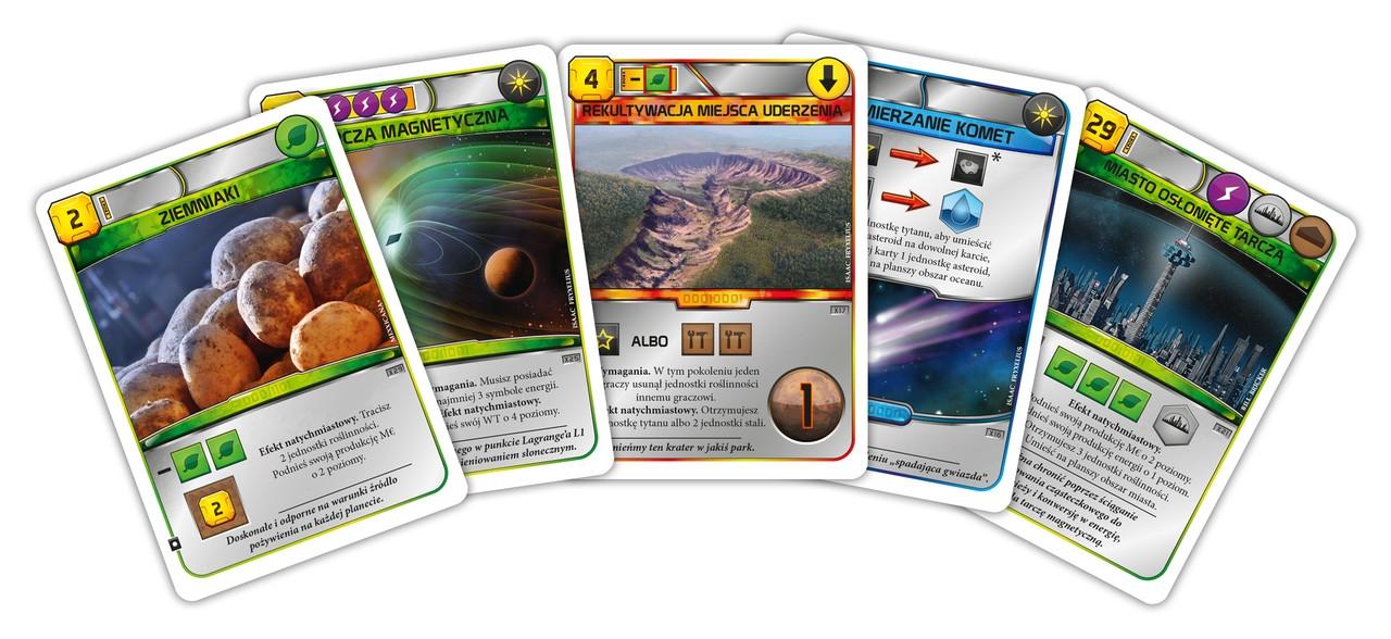 Terraformacja Marsa - Zestaw dodatkowy 5 (20 nowych kart) (przedsprzedaż)