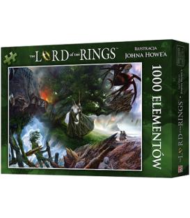 Puzzle Władca Pierścieni: Wyprawa do Mordoru (1000 elementów) (przedsprzedaż)