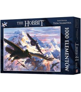 Puzzle Hobbit: Bilbo i orły (1000 elementów) (przedsprzedaż)