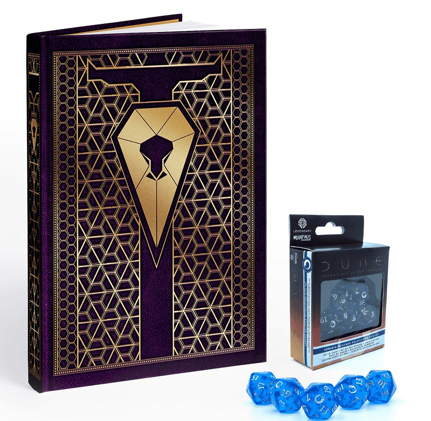 Diuna: Przygody w Imperium - Zestaw gracza (Edycja Corrino) (przedsprzedaż)