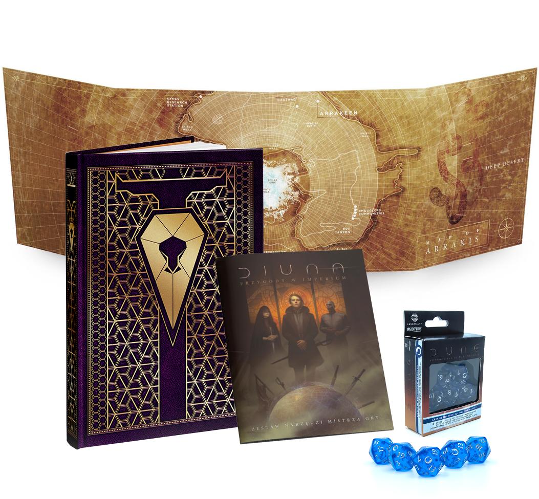 Diuna: Przygody w Imperium - Zestaw Mistrza Gry (Edycja Corrino) (przedsprzedaż)