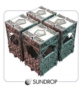 ISS Vanguard - Section boxes (sundrop) (Gamefound) (przedsprzedaż)