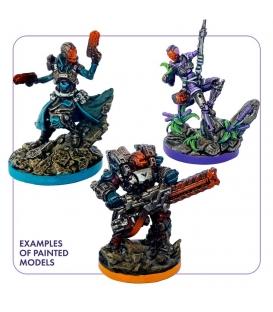 ISS Vanguard - Painted heroes (corebox heroes + deadly frontier heroes) (Gamefound) (przedsprzedaż)