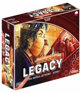 Pandemic Legacy (Pandemia) - Edycja czerwona