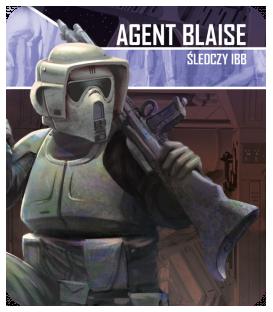 Star Wars: Imperium Atakuje - Agent Blaise: Śledczy IBB - zestaw przeciwnika