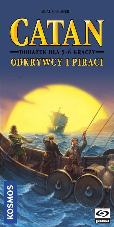 Catan: Odkrywcy i Piraci - Dodatek dla 5-6 graczy