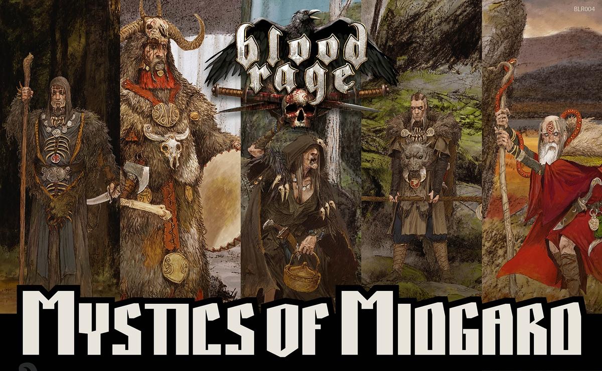 Blood Rage: Mistycy z Midgardu