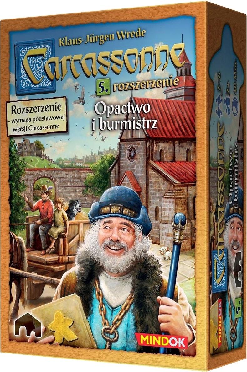 Carcassonne: Opactwo i Burmistrz (druga edycja polska)