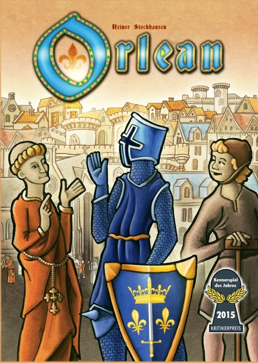 Orlean (edycja polska) + zestaw budynków 1 i 2