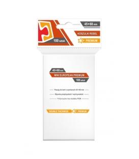 "Koszulki na karty Rebel (44x68 mm) ""Mini European Premium"", 100 sztuk"