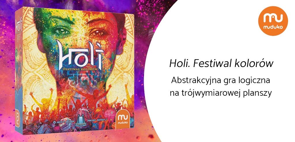 Holi. Festiwal kolorów