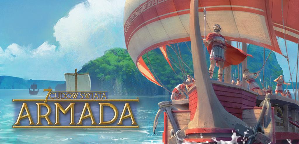 7 Cudów Świata: Armada + plansza