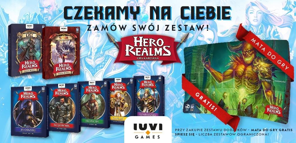 Hero Realms - Pakiet Bohaterowie + Bossowie + Mata