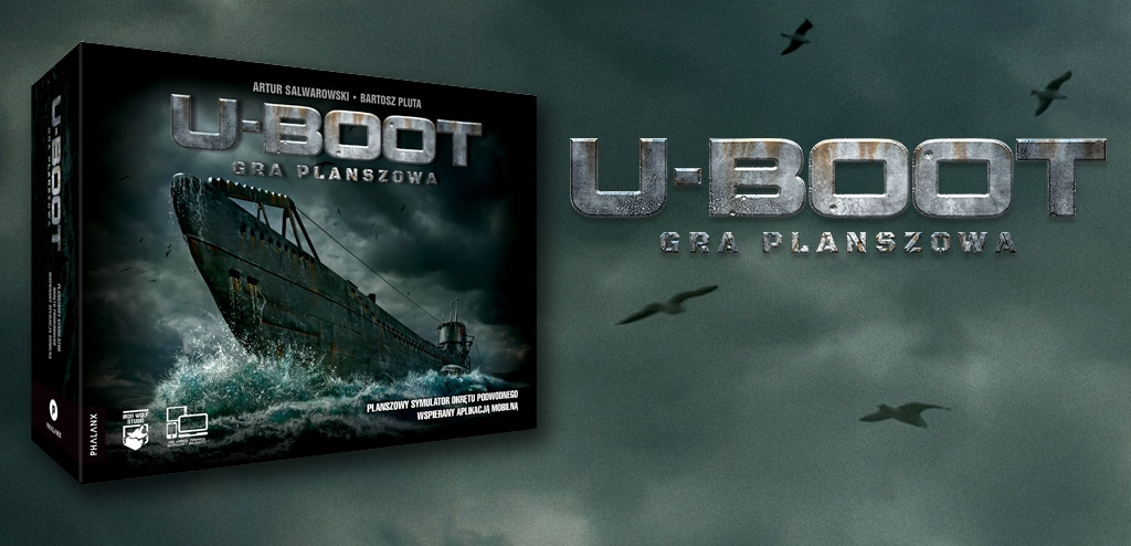 U-boot gra planszowa + Zestaw drewnianych narzędzi nawigatora